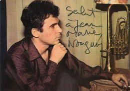 712Ma  Claude Nougaro Carte Postale Dédicacée - Entertainers