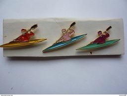 3 Pin S Canoe Different Neuf - Canoeing, Kayak
