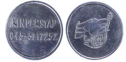 00795 GETTONE JETON TOKEN NETHERLANDS LUNA PARK AMUSEMENT KINDERSTAD HERLEN - Tokens & Medals