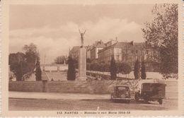 Loire  Atlantique :   NANTES :  Monument Aux  Morts ( Voiture  Traction) - Nantes