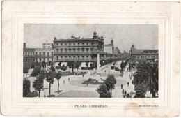 Plaza Liberdad Montevideo - Uruguay