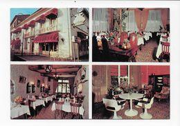 31  MURET  CARTE POSTALE PUBLICITAIRE  HOTEL RESTAURANT AUX AILES  TRES  BON ETAT 2 SCANS - Muret