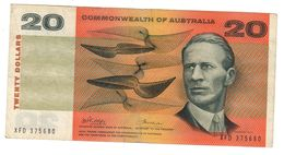Commonwealth Of Australia 20 Dollars 1972  *L* - Decimal Government Issues 1966-...