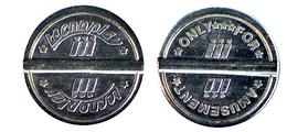 00722 GETTONE JETON TOKEN SAN MARINO TECNOPLAY AMUSEMENT PLAY MACHINE - Tokens & Medals