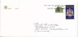 Multiple Stamps Cover To Denmark - 23 October 2001 K0A J0X - 1952-.... Reign Of Elizabeth II