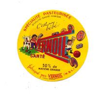 P 942 - ETIQUETTE DE FROMAGE - DEMI -VERNOIL (M & L) - Cheese