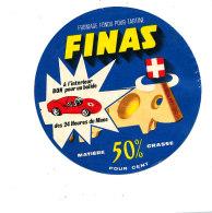 P 944 - ETIQUETTE DE FROMAGE -  FROMAGE FONDU FINAS - Cheese
