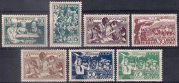 Russia 1938, Michel Nr 618-24, MLH OG - 1923-1991 USSR