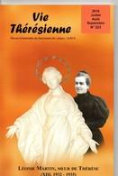 Vie Thérésienne,vie  De Léonie MARTIN, Année 1935,  Soeur De Thérèse De L'Enfant Jésus, 137 Pages, Religion, LISIEUX, - Religion