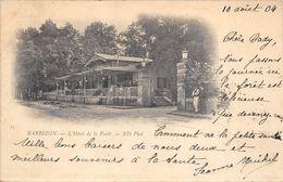 77 BARBIZON HOTEL DE LA FORET PRECURSEUR - Barbizon