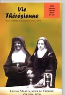 Vie Thérésienne,vie  De Léonie MARTIN, Année 1928,  Soeur De Thérèse De L'Enfant Jésus, 120 Pages, Religion, LISIEUX, - Religion