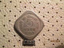 INDIA 5 Paise 1963 - India
