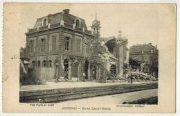 MILITARIA GUERRE 14/18 AMIENS SOMME Gare St Roch  Après Bombardements Allemands After The Bombardment - Guerre 1914-18