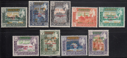 South Arabian Kathiri State 1966 MNH SG #68-#76 Set Of 9 Overprints Olympics History - Timbres