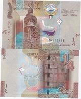 Kuwait - 1/4 Dinar 2014 UNC Lemberg-Zp - Kuwait
