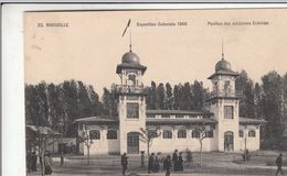 Cp , 13 , MARSEILLE , Exposition Coloniale, 1906 , Pavillon Des Anciennes Colonies - Expositions Coloniales 1906 - 1922