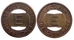 00263 GETTONE JETON TOKEN TRASPORTI TRANSPORT INDIANA EVANSVILLE 1948 - USA