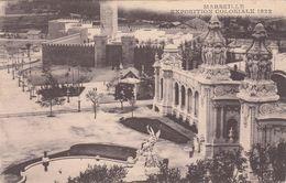 Cp , 13 , MARSEILLE , Exposition Coloniale, 1922 , Grand Palais Et Palais Du Maroc - Expositions Coloniales 1906 - 1922