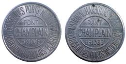 02562 GETTONE JETON TOKEN BRIDGE TOKEN TRASPORTI TRANSPORT CANADA VERDUN - Tokens & Medals