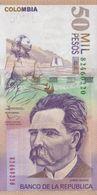 COLOMBIA 50.000 Pesos 6.8.2014 UNC Pick 455 - Colombie