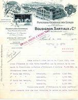 """""""Papéterie Générale Des Ecoles"""", Ets BOUDIGNON,  SARTIAUX Et Cie, PARIS 13°, Rue Baudricourt N°66, 1922 - Frankreich"""