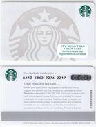Starbucks - USA - 2015 - CN 6112 5362 White Siren - Gift Cards