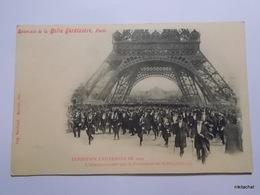 Exposition Universelle De 1900-L'inauguration Par Le Président De La Republique - Mostre
