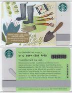Starbucks - USA - 2015 - CN 6112 9849 Kitchen Garden - Gift Cards