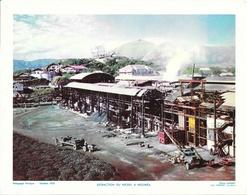 Photo Landry, Pédagogie Pratique 1955 - Nouvelle Calédonie: Extraction Et Usine De Nickel à Nouméa (SNL à Doniambo) - Géographie