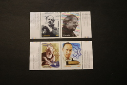 Canada Millenium 4 Values Used Writers Inventors Bell Bombardier 1999 WYSIWYG  A04s - Canada