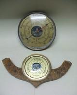 2 BAROMETRES (1 Baromètre Marque Baromaster) - Techniek & Instrumenten