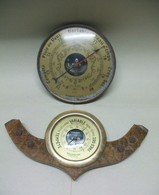 2 BAROMETRES (1 Baromètre Marque Baromaster) - Technics & Instruments