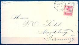 1909 , CUBA , SOBRE CIRCULADO ENTRE LA HABANA Y MAGDEBURGO - Cuba