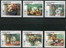 Cambodge - 1999 - Tableaux - Cézanne, Matisse, Derain, Friesz, Fantin-Latour - PhilexFrance 99 - Neufs - Autres