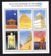 Tanzania, Scott #1638, Mint Never Hinged, Ancient Architecture, Issued 1997 - Tanzania (1964-...)
