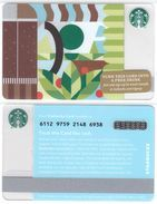 Starbucks - USA - 2015 - CN 6112 9759 Door In A Garden - Gift Cards