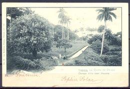 1903 , CUBA , TARJETA POSTAL CIRCULADA ENTRE LA HABANA Y GILFORD (IRLANDA ) , LA QUINTA DEL OBISPO - Cuba