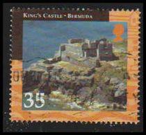 Bermuda Scott # 802, 35¢ Multicolored (2001) King's Castle, Used - Bermuda