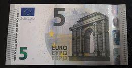 AUSTRIA 5 Euro 2013 Draghi UNC N014 F5 Serial Prefix NA - EURO