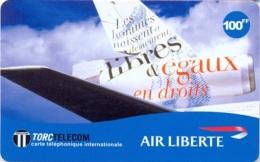 TORC : FR008 100FF TORC AIR LIBERTE Airplane USED - France