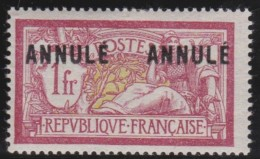 France    .    Yvert      121  C1  - 2         .        *         .         Neuf   .     /    .   Mint-hinged - France