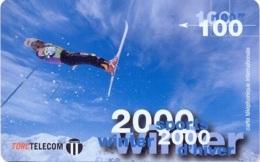 TORC : FR019A 100FF TORC 2000 WINTER SPORTS D'HIVER  Ski USED - France