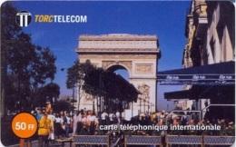 TORC : FR025 50FF TORC Arc De Triomphe USED - France