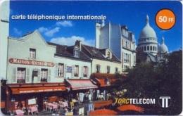 TORC : FR026 50FF TORC Maison Catherine Montmartre USED - France