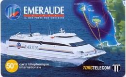 TORC : FR035 50FF EMERAUDE Ferryboat USED - France