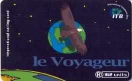 TORC : GUA005 162u Le Voyageur Globe And Hawk USED - France