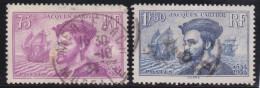 France    .    Yvert      .     296/297        .         O         .          Oblitéré - Used Stamps