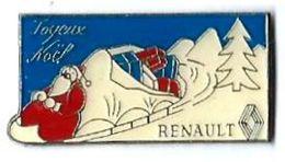 R37 - RENAULT - JOYEUX NOEL - Verso : SM - Renault