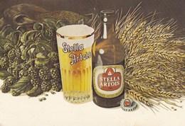 Publicitaire Postkaart Stella Artois, Verstuurd In 1978 (pk42201) - Autres