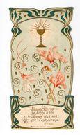 Citation Du R. P. Faber, Calice Etfleurs De Cyclamen, éd. Bonamy 287-4, Art Nouveau - Santini